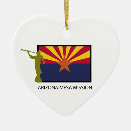 ARIZONA MESA MISSION LDS CTR CERAMIC ORNAMENT