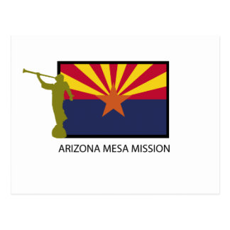 ARIZONA MESA MISSION LDS CTR POSTCARD