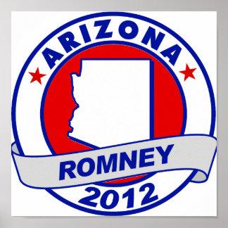 Arizona Mitt Romney Impresiones