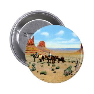 Arizona Monument Valley Pinback Button