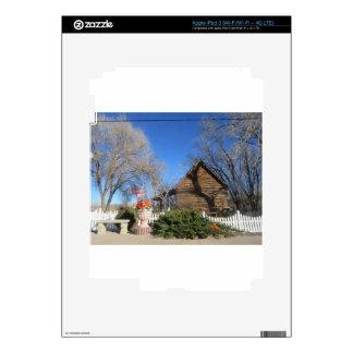 Arizona Mormon Cabin Skins For iPad 3