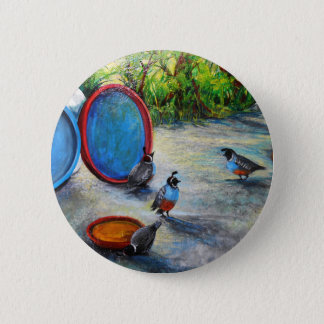 """Arizona Morning"" Pinback Button"