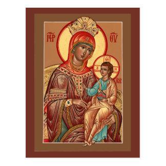 Arizona Mother of God Prayer Card Postcard
