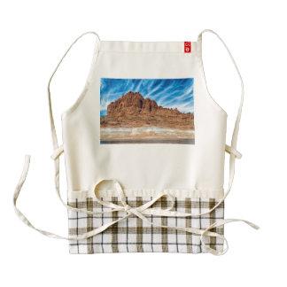Arizona mountains zazzle HEART apron