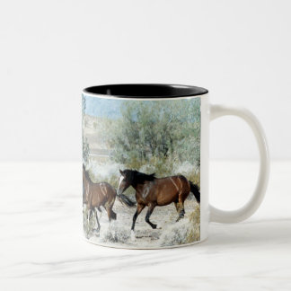 Arizona Mustangs Two-Tone Coffee Mug