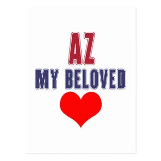 Arizona my beloved postcard