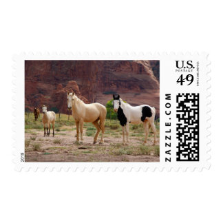 Arizona, Navajo Indian Reservation, Chinle, Postage Stamps