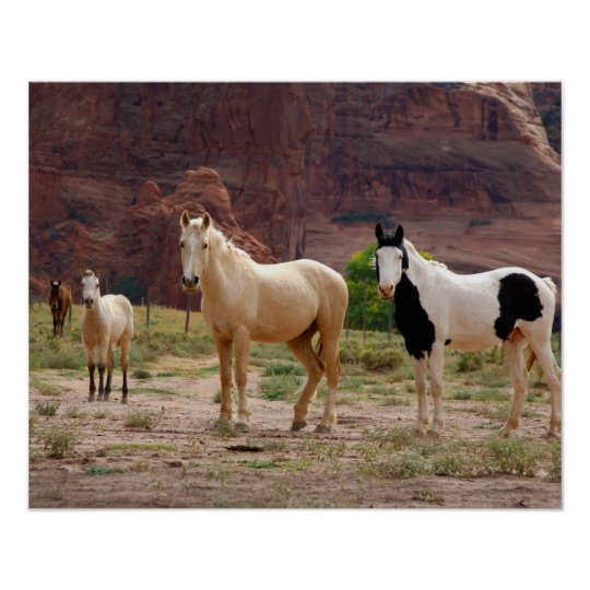 Arizona, Navajo Indian Reservation, Chinle, Poster