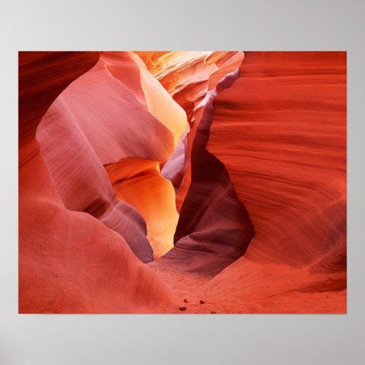 Arizona, Navajo Nation, Lower Antelope Canyon, Print