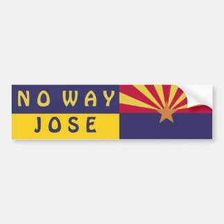 Arizona: Ninguna manera Jose Pegatina Para Auto
