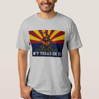 Arizona: No pise en mí (limpio) Playera
