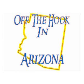 Arizona - Off The Hook Postcard