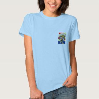 Arizona Old Timers Javelina Baby Doll Large Logo Tee Shirt