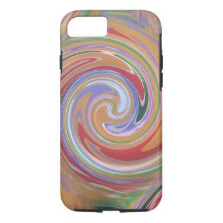arizona orange swirl pattern iPhone 8/7 case
