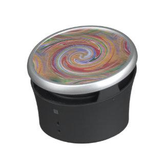 arizona orange swirl pattern speaker