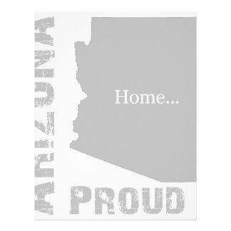 Arizona orgulloso membretes personalizados