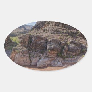 Arizona Outback Oval Sticker