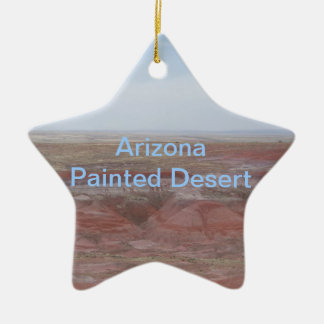 Arizona Painted Desert Ceramic Ornament