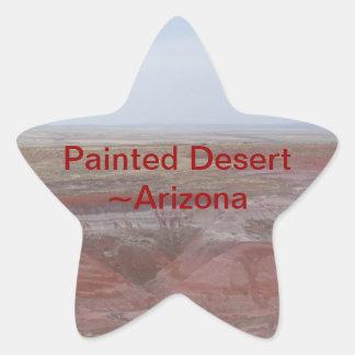 Arizona Painted Desert Star Sticker