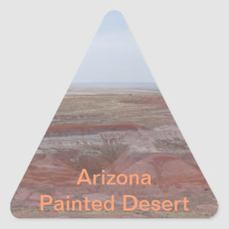 Arizona Painted Desert Triangle Sticker
