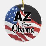 Arizona para la elección de Obama Adornos De Navidad