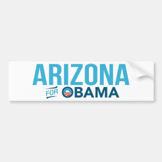 Arizona para la pegatina para el parachoques 2012  etiqueta de parachoque