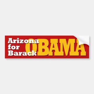 Arizona para la pegatina para el parachoques de Ba Pegatina Para Auto
