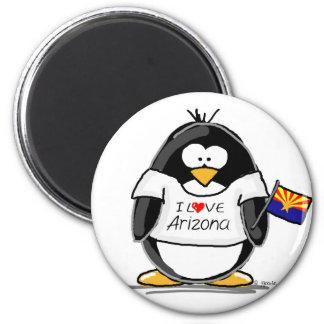 Arizona Penguin Refrigerator Magnets