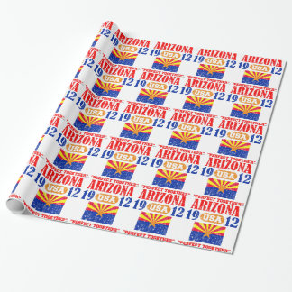 ARIZONA PERFECT TOGETHER DISTRESSED PRODUCTS GIFT WRAP