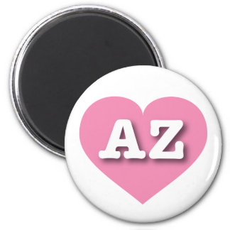 Arizona pink heart - Big Love Magnet