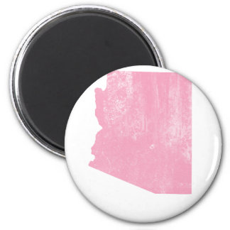 Arizona Pink Vintage Grunge Refrigerator Magnet