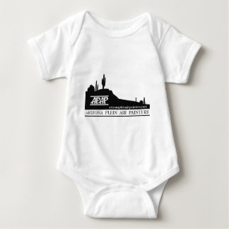 Arizona Plein Air Painters Logo Baby Bodysuit