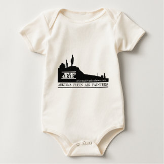 Arizona Plein Air Painters Logo Baby Bodysuit