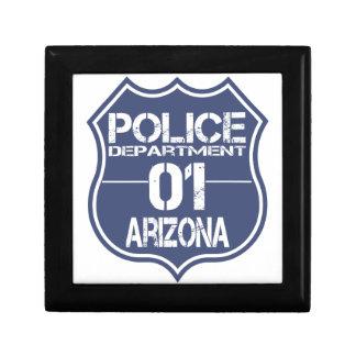 Arizona Police Department Shield 01 Gift Box