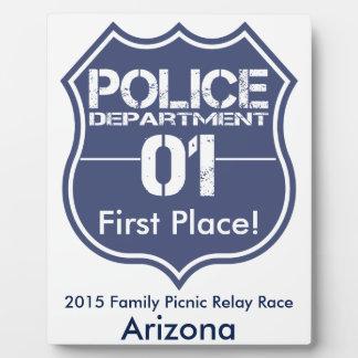 Arizona Police Department Shield 01 Plaque