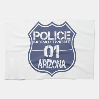 Arizona Police Department Shield 01 Towels