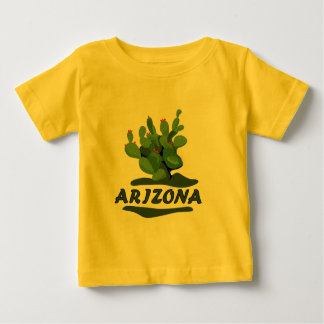 Arizona Prickly Pear Infants Yellow T-shirt
