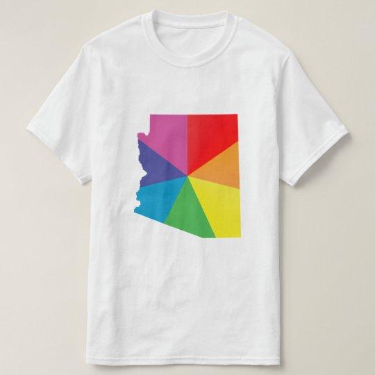 arizona pride. angled. T-Shirt