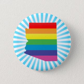 arizona pride. pinback button