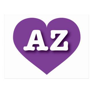 Arizona purple heart - Big Love Postcard