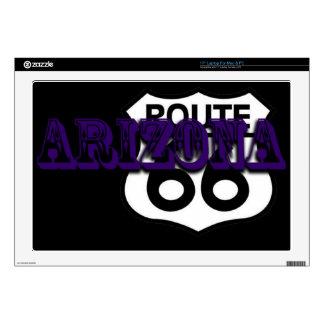 "Arizona Purple Route 66 Customize this 17"" Laptop Skin"