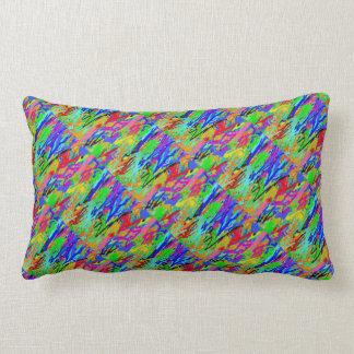 Arizona Rainforest : Artistic Colorful OneOFaKIND Pillows