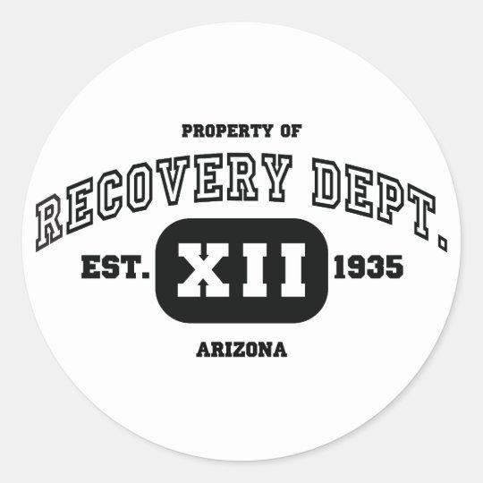 ARIZONA Recovery Classic Round Sticker