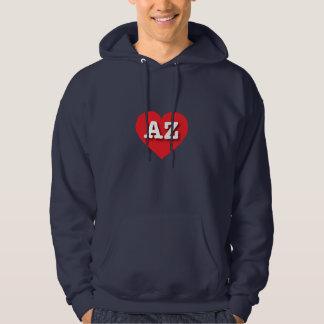 Arizona red heart - Big Love Pullover