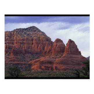 Arizona Red Rocks Postcard