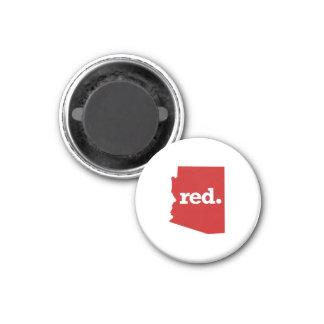 ARIZONA RED STATE 1 INCH ROUND MAGNET