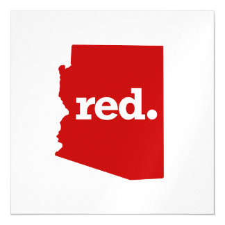 ARIZONA RED STATE MAGNETIC CARD