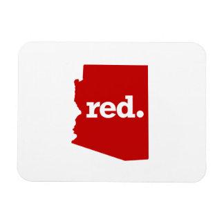 ARIZONA RED STATE RECTANGULAR PHOTO MAGNET