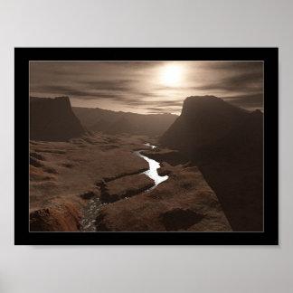 Arizona River Poster