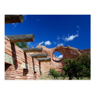 Arizona, roca de la ventana. Capital del Navajo Postales